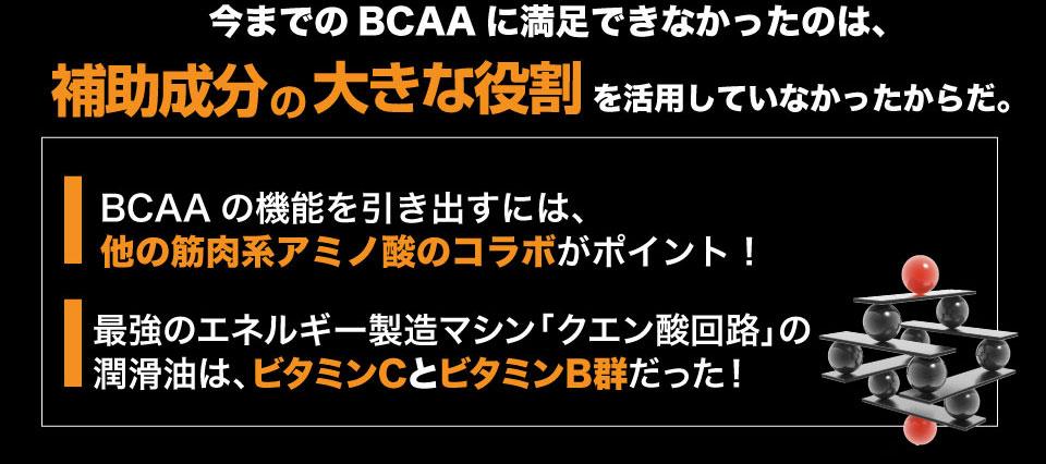BCAAだけでなくほかのアミノ酸とのコラボがポイント!ビタミンC、B群も一緒に摂取