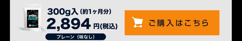 BCAAプラス プレーン 300g入 2,894円を購入する
